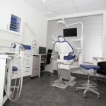 A dentist office with chairs, tables, computer, monitor screens, and all the stuffs used by dentist which is considered as one of the dental clinic of eDental Perth.