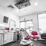 eDental Perth dental clinic for children in Rivervale. It has dental chairs, tables, monitor and other tools to be used for dental procedures.