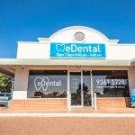 Front view of eDental Perth clinic, a dental clinic for kids.