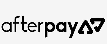 Logo of Afterpay, one of the dentist payment options you can avail at eDental Perth.