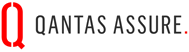 The official logo of Qantas which is one of the preferred provider of eDental Perth.