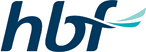 The official logo of HBF, one of the local referral program of eDental Perth.