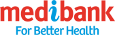 The official logo of MediBank, one of the local referral program of eDental Perth.